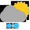 Durante la prima parte della giornata Coperto con scrosci temporaleschi e grandine tendente nella seconda parte della giornata Coperto