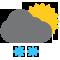 Durante la prima parte della giornata Nubi sparse tendente nella seconda parte della giornata Nubi sparse con nevicate