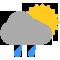 Durante la prima parte della giornata Nubi sparse tendente nella seconda parte della giornata Coperto